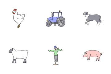 Farmyard Icon Pack