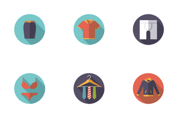 Fashion And Clothing Icon Pack