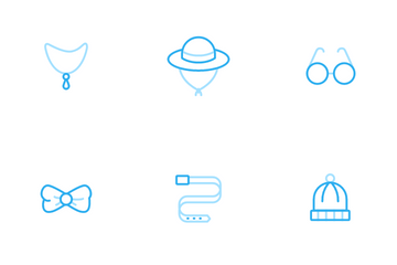 Fashion Accessories Icon Pack