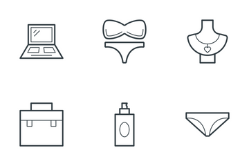 Fashion And Clothes 1 Icon Pack