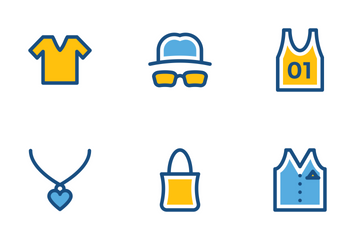 Fashion And Clothes Icon Pack