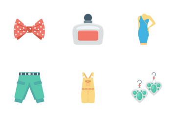 Fashion And Clothes Vol 3 Icon Pack