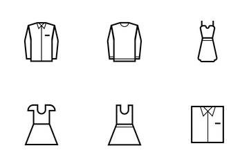 Fashion And Wear (line) Vol.1 Icon Pack