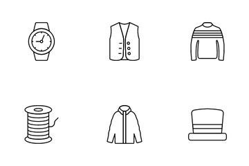 Fashion & Clothing Icon Pack