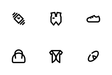 Fashion Collection Icon Pack