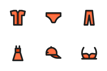 Fashion (Filled Outline) Icon Pack