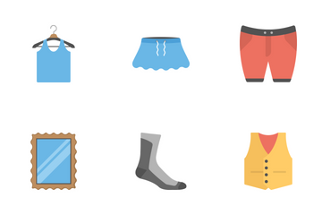 Fashion Flat Icons 1 Icon Pack