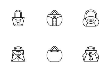 Fashion Handbag Icon Pack