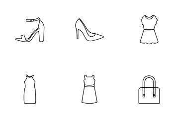 Fashion Women Icon Pack