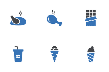 Fast Food Icon Pack