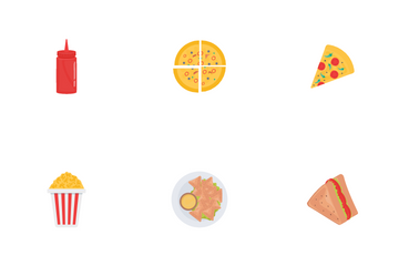 Fast Food Vol 1 Icon Pack