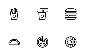 Fastfood Icon Pack