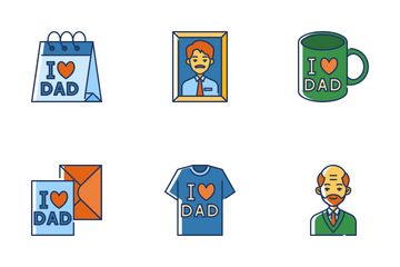 Father's Day Icon Pack