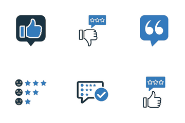 Feedback And Reviews Icon Pack