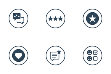 Feedback Review Icon Pack
