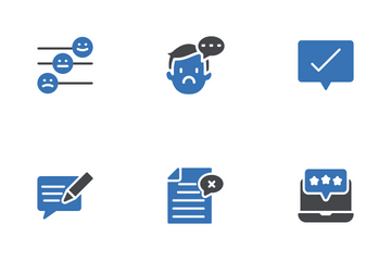Feedback & Review Icon Pack