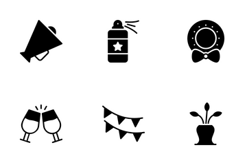 Festa Junina Elements Icon Pack