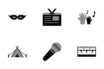 Festival And Concert Icon Pack