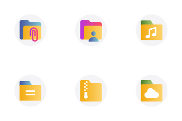 File And Folder 1 Icon Pack