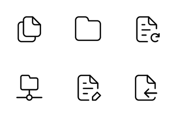 File And Folder Icon Pack
