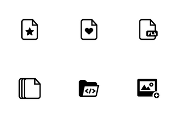 File And Folder Fill Icon Pack