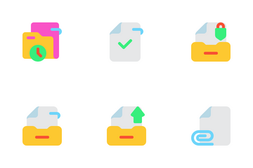 File And Folder Part 1 Icon Pack