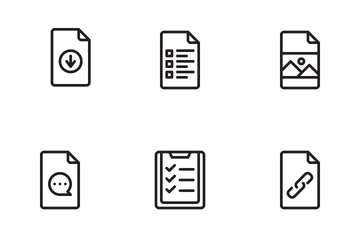 File & Document Icons Icon Pack