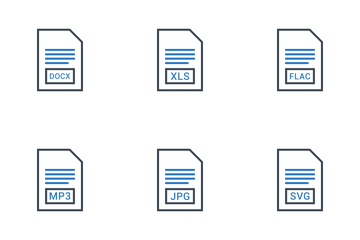 File Extension Names Vol 1 Icon Pack