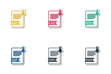 File Extension Names Vol 2 Icon Pack