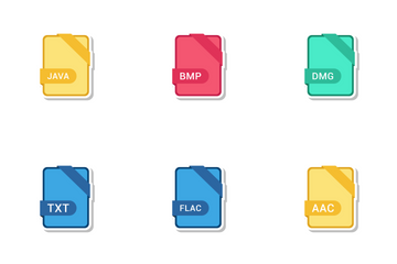 File Extension Names Vol 3 Icon Pack
