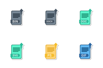 File Extension Names Vol 4 Icon Pack