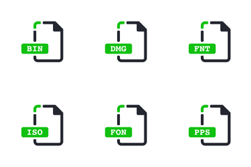 File Extension Vol 1 Icon Pack