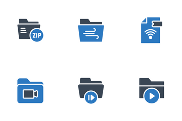 File & Folder Icon Pack