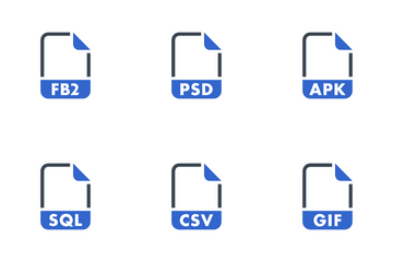 File & Formats Icon Pack