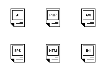 File Names Vol 6 Icon Pack