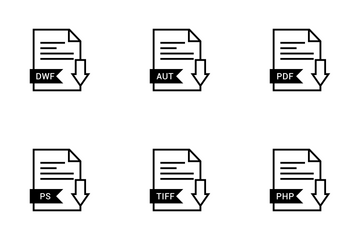 File Names Vol 8 Icon Pack