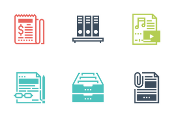 Files And Documents Icon Pack