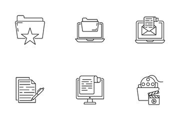 Files And Folders Icon Pack