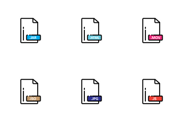 Files Types Vol 2 Icon Pack