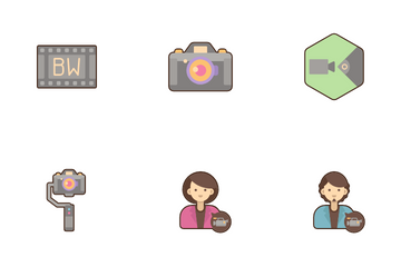 Filmmaking Icon Pack