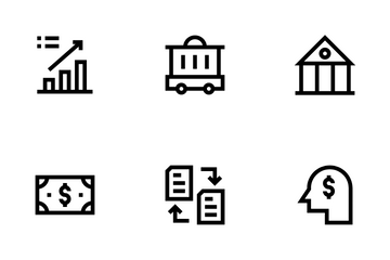 Finance And Banking Icon Pack