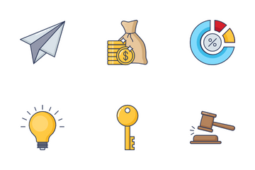 Finance And Banking Vol  1 Icon Pack