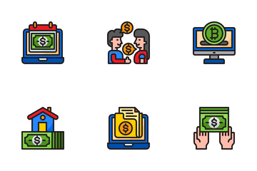 Finance And Business Icon Pack