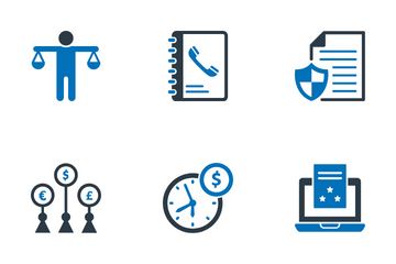 Finance And Economy Icon Pack