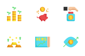 Finance And Investment Icon Pack
