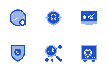 Finance And Marketing Icon Pack