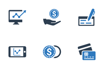 Finance And Money (set 3) Icon Pack