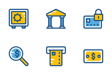 Finance And Payments Cute Icons 1 Icon Pack