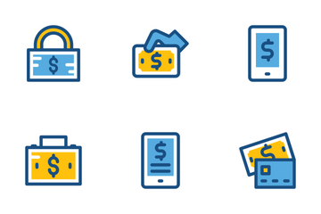 Finance And Payments Cute Icons 2 Icon Pack