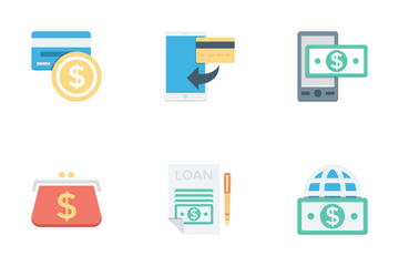 Finance And Payments Vol 2 Icon Pack